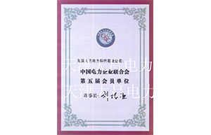 中国电力企业联合会第五届会员单位