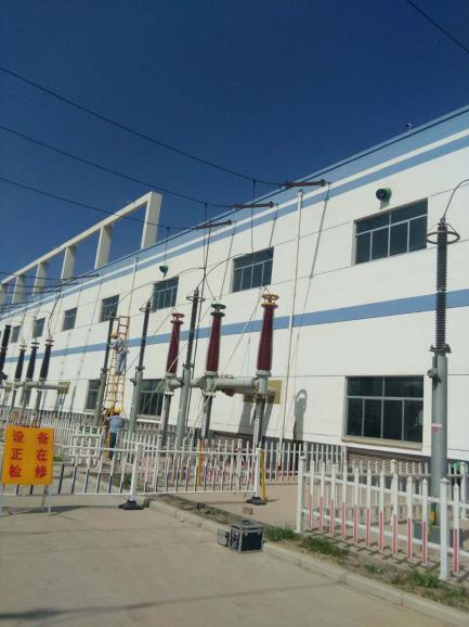 魏桥邹平变电站施工