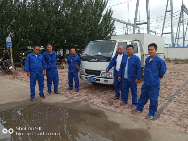 吉林省白城施工展示